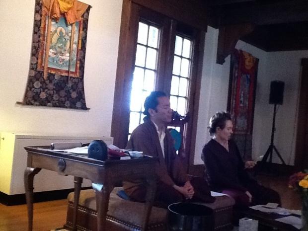 Lama Gursam and Lama Willa